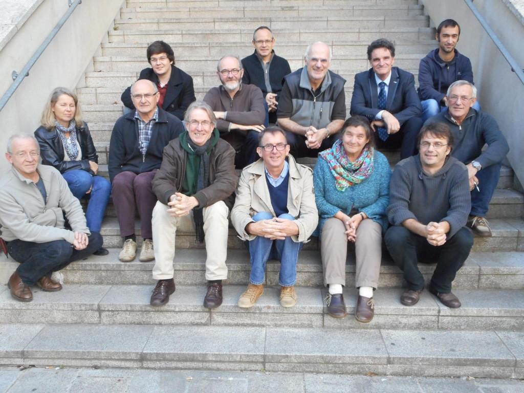 Avec les membres de l'association Dastum