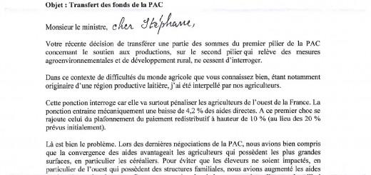 Page 1 Lettre Travert
