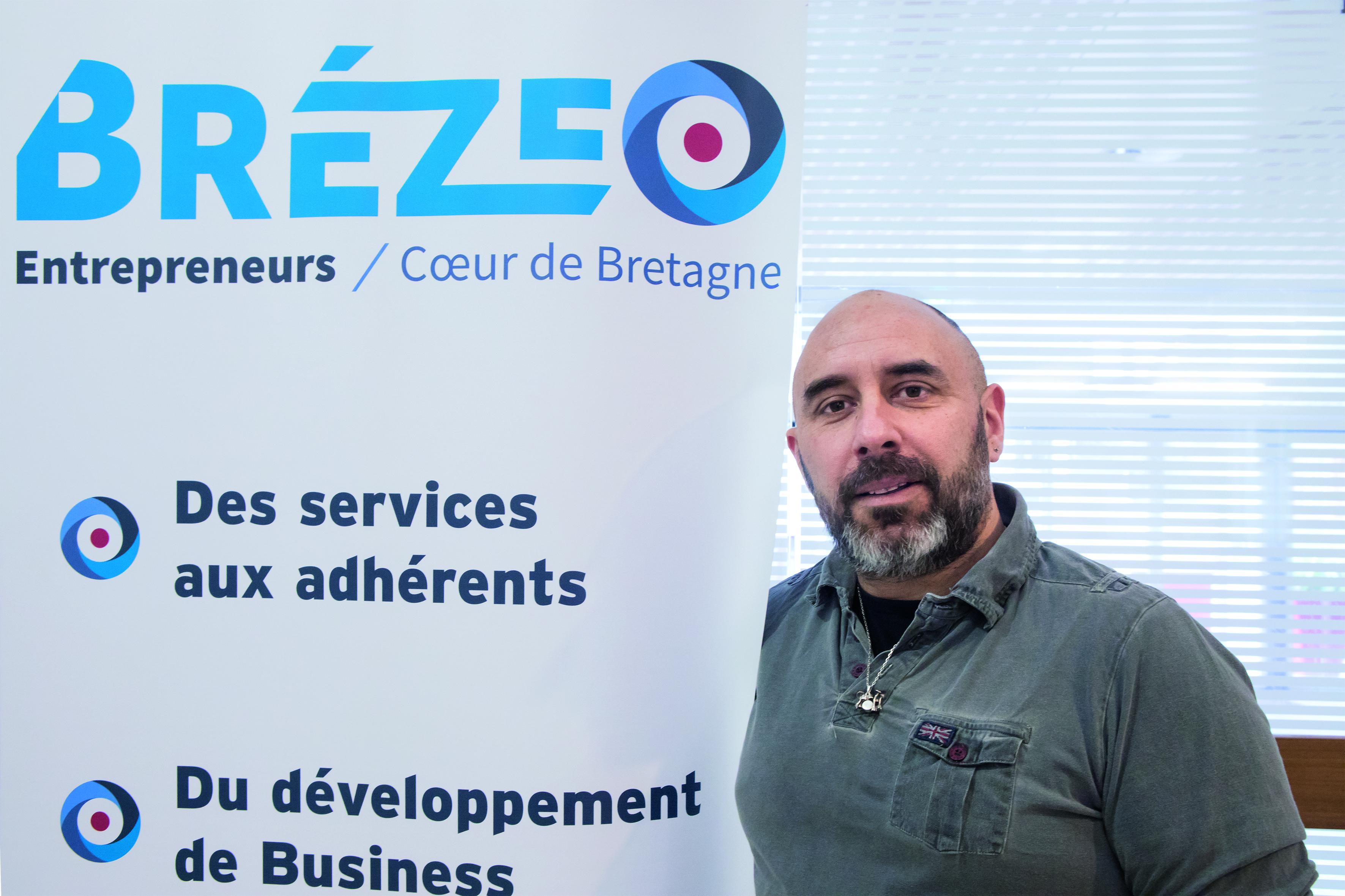 Stéphane Boullet, président de Brézeo.