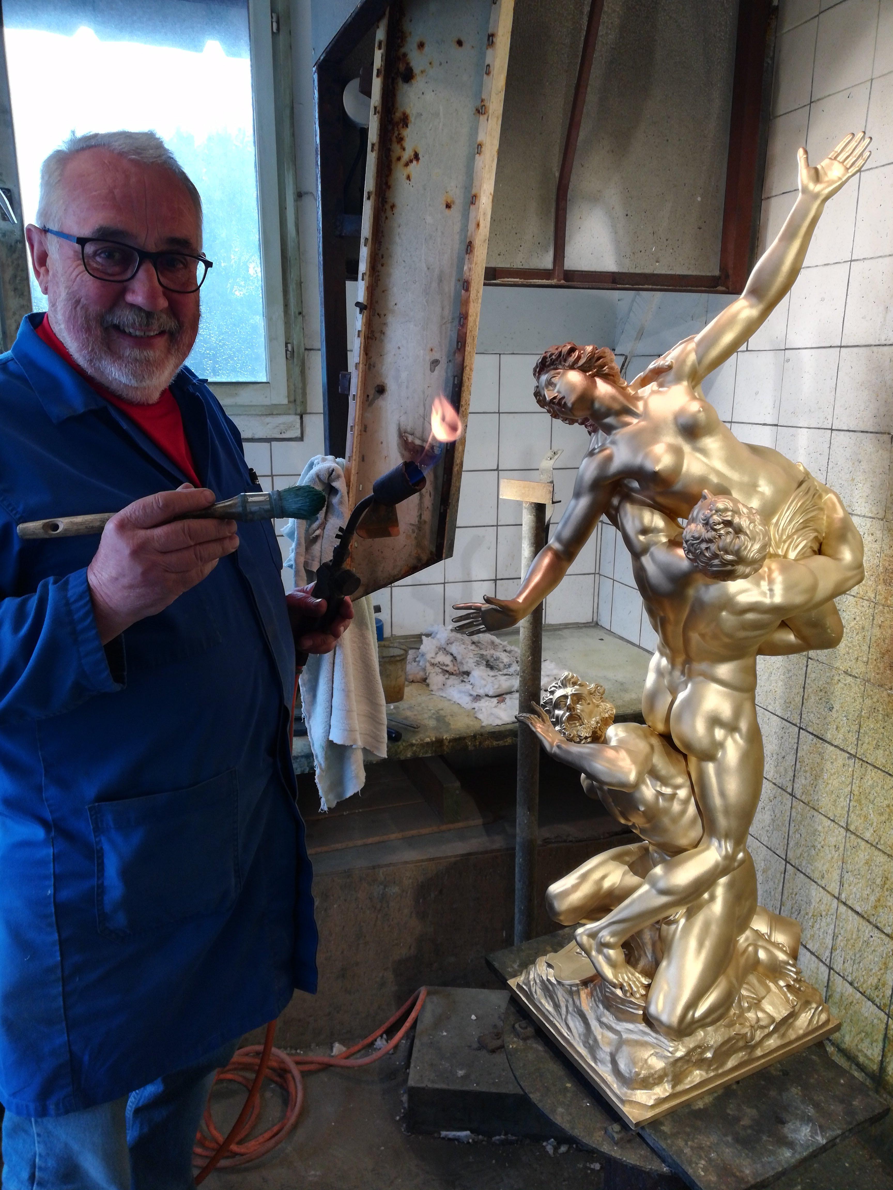 Bronzier D Art jean-claude gaillard, bronzier d'art depuis 30 ans à guilliers